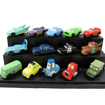 Free shipping  Pixar Car Figures Full Set PVC  1 set=14 pcs High Quality for Gift