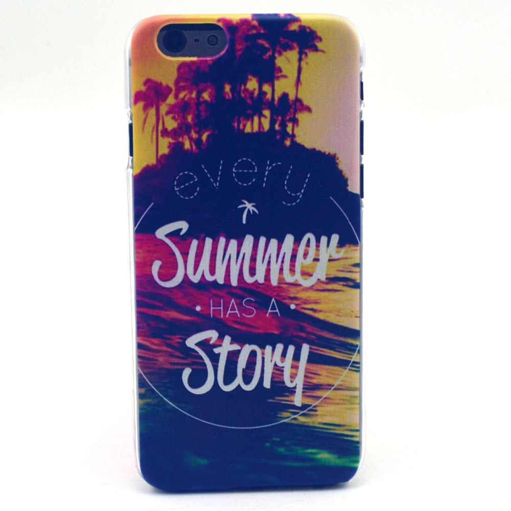 New high quality hard PC cell phone pocket sunsets pattern protective shell for Apple iPhone 6G 4.7 inch case cover(China (Mainland))