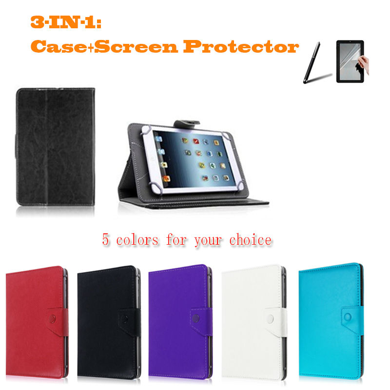 """For Cube Talk97 (U59GT-C4)/U9GT2/Talk 9x/U9GT5/U9GTV/U19GT 9.7"""" Inch Universal Tablet PU Leather cover case 2 Free gifts(China (Mainland))"""