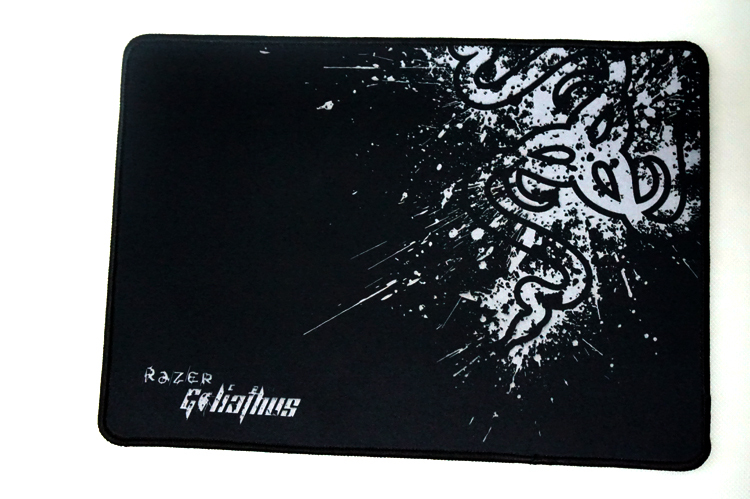 Razer mouse pad Goliathus 2015 extended Goliathus 320mm*240mm*4mm New style for CS for dota for lol Free shipping(China (Mainland))