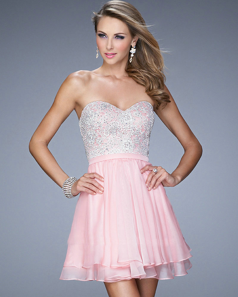 Cheap Light Pink Dresses