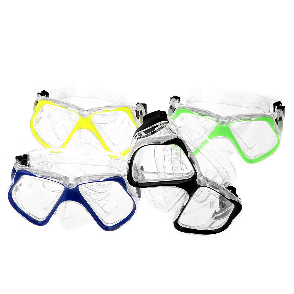 4mm Toughened Tempered Scuba Diving Mask Goggles Swimming Diving Snorkeling Equipment Professional Diving Masks Glass(China (Mainland))