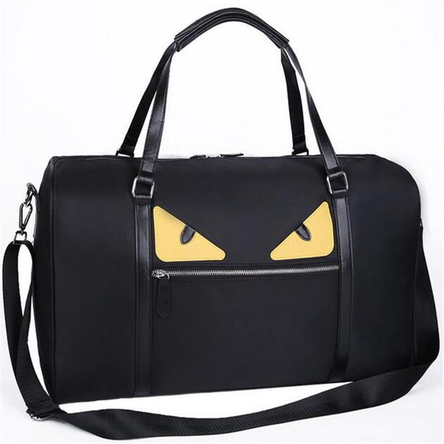 Новый маленький монстр диагональ большой емкости сумкой мужчины и женщины дорожная ...