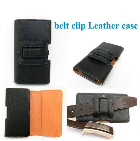 Black Leather Holster Belt Clip Case for Sony S39H Used in mountain climbing&bicycle riding&outdoor activities(China (Mainland))