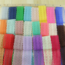 Bilateral ribbon decorative lace trim