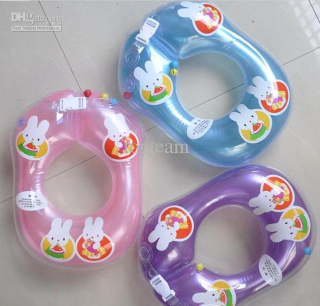 EMS Free shipping to AUS Baby Swimming Ring Adjustable trainer Neck 12pcs/lotS J-094