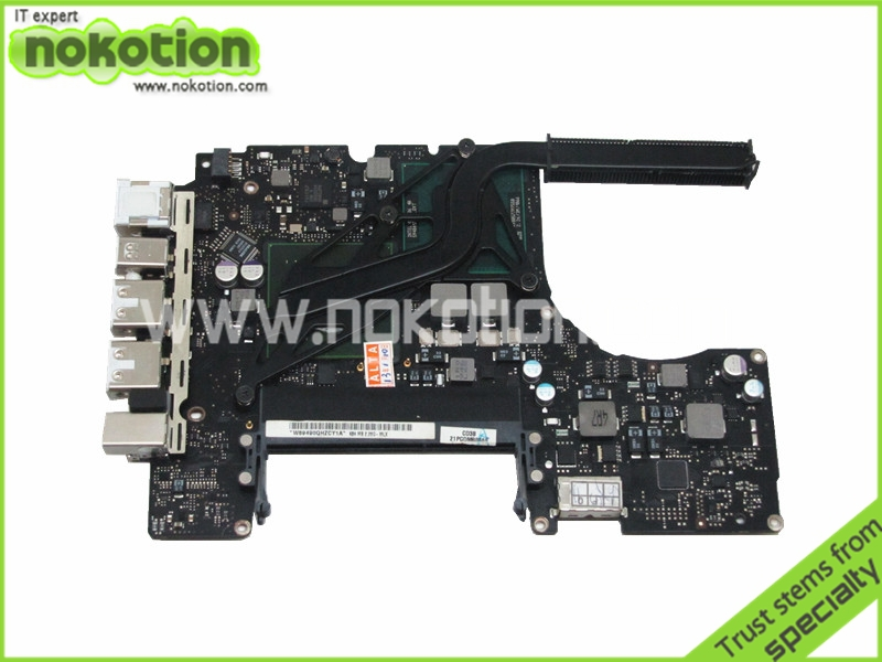 820-2567-A Motherboard For Apple MacBook A1342 Logic board P7550 CPU Onboard DDR3 100% tested(China (Mainland))