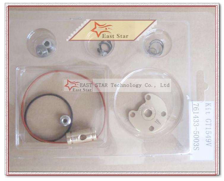 Turbo Repair Kit GT1549V 761433 761433-0003 A6640900880 A6640900780 For SSANG YONG Actyon A200XDi Kyron M200XDi D20DT 2.0L Xdi