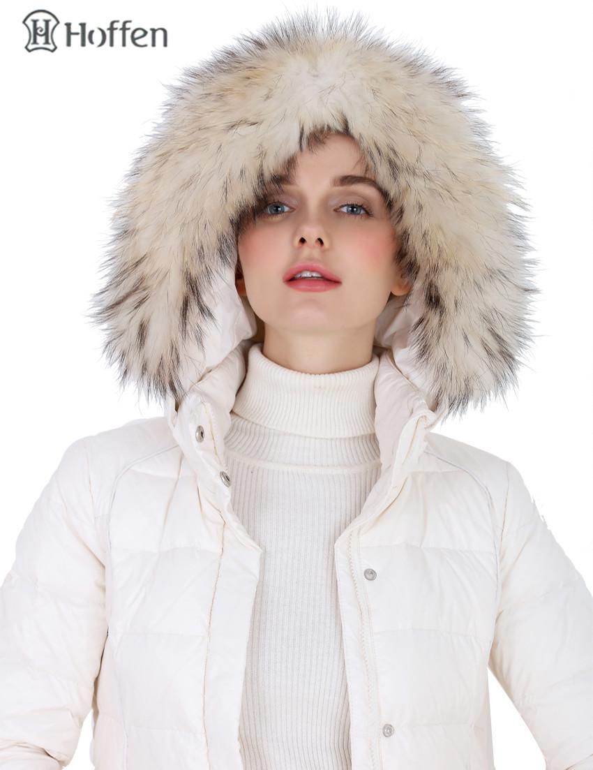 Hoffen Brand Women Down Parka Coat Winter Women's Fur Hooded Long Down Coats Slim Belt Winter Thicken Jacket manteau femme hiver(China (Mainland))