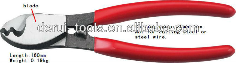 cable cutter not for cutting steel or steel wire for cable wire cutting LK-22A german style(China (Mainland))