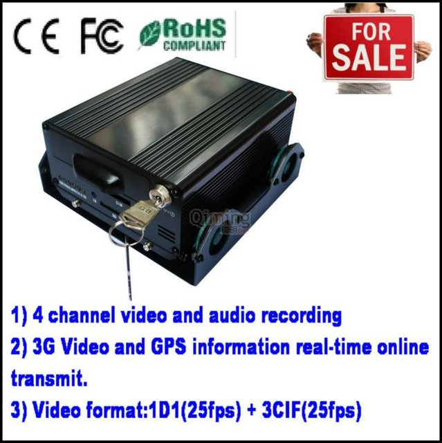 CCTV 4ch GPS 3G Mobile Car DVR,mobile car dvr 3g Suppliers