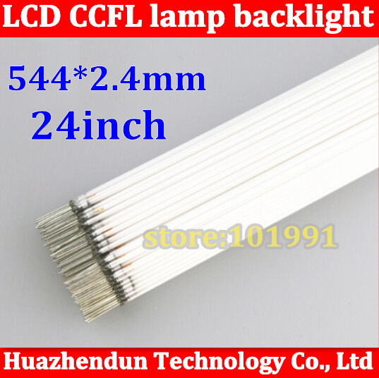 """50PCS/LOT Wholesale CCFL 544mm * 2.4mm 24"""" wide screen CCFL tube Cold cathode lamps LCD monitor backlight tube(China (Mainland))"""