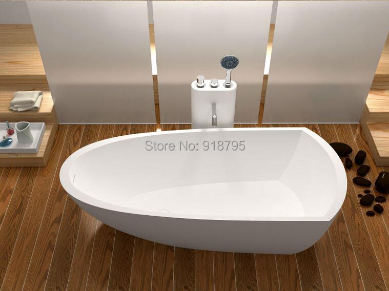 Red and white Tubs free shipping soild surface bathtub corian bathtub modified bathtub WD6592<br><br>Aliexpress