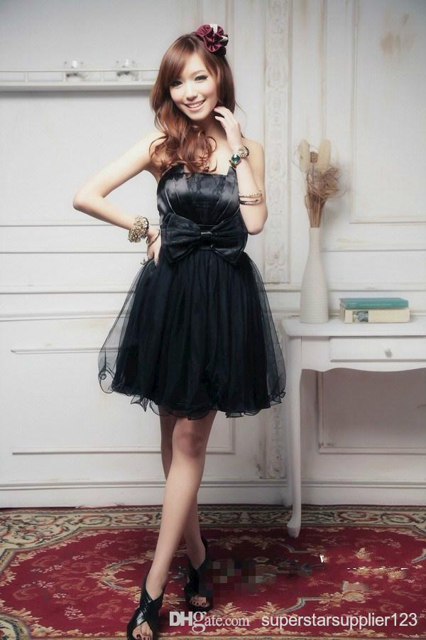 Romantic Free Size Short Mini Women Cocktail Party Daily Dress(China (Mainland))