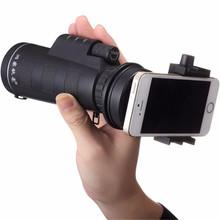 Buy Universal 10x40 Hiking Concert Phone Camera Telescope Lens Zoom Telescope Lens Phone Holder iPhone Samsung Smartphones for $18.78 in AliExpress store