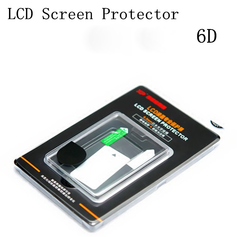 Japanese Optical Glass LCD Screen Protector Guard Film For Canon 6D Digital Camera Free Shipping Brazil +Tracking NO.(China (Mainland))