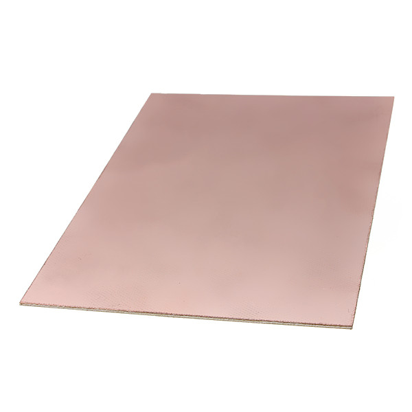 Lowest price 10cmx15cm Single Side PCB Copper Clad Laminate Board FR4(China (Mainland))
