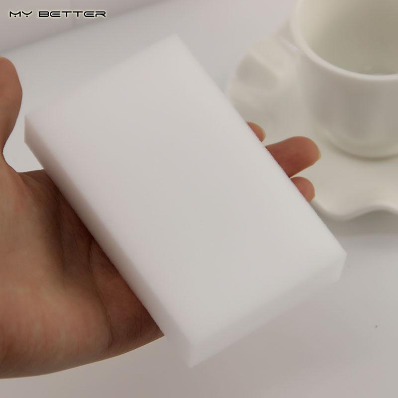 Eco-Friendly 7 pcs/lot Multi-functional Magic Sponge Eraser Home Accessories Melamine Sponge Cleaner 100x60x20MM(China (Mainland))