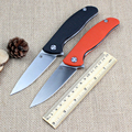 Good Quality Bear head F3 D2 blade G10 handle 2 Colors folding knife outdoor camping survival