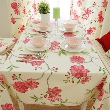 Activity  cotton Rectangular table cloth for weddings home hotel use waterproof Oilproof tablecloth to table Multi-size(China (Mainland))
