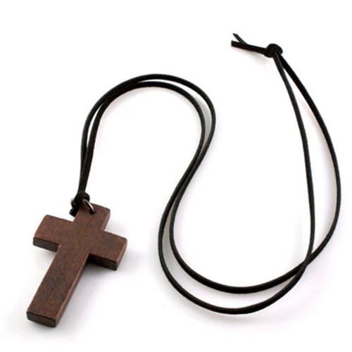 2015-new-stylish-Wooden-Cross-Leather-String-Necklace-Chain-Popular-Jewelry-In-Korea-P1178