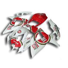 Buy Fairing kit SUZUKI K8 GSXR 600 700 2008 2009 2010 Injection molding red LUCKY STRIKE GSXR600 GSXR750 08 09 10 fairings VQ43 for $303.60 in AliExpress store