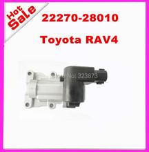 ORIGINAL ! Idle Air Control Valve for  For   2227028010 22270-28010  01 02 03 Toyota RAV4 2.0 L4 OEM Idle Air Control Valve(China (Mainland))