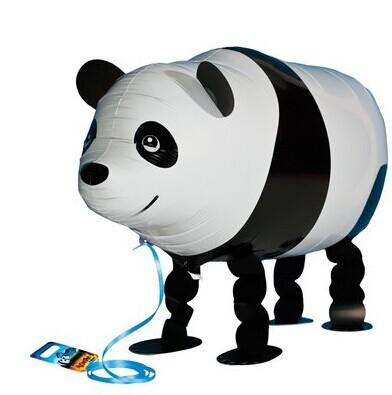 Factory wholesale 20pcs/lot,assortment design walking pet balloon,walking balloon animals,panda walking balloon Funny(China (Mainland))