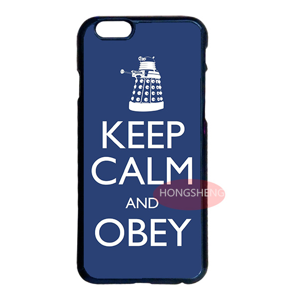 KEEP CALM AND OBEY Case Cover for LG iPhone 4 4S 5 5S 5C 6 6S Plus iPod 4 5 6 Samsung Note 2 3 4 5 S2 S3 S4 S5 Mini S6 Edge Plus(China (Mainland))