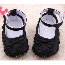 2016 New Arrival Cute Baby Christening baptism newborn baby girl shoes headband set toddler baby shoes booties shoes for girls(China (Mainland))