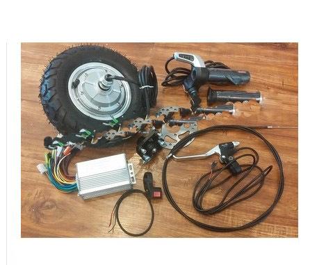 Hot sale 9inch 350w 36v brushless non gear hub motor for Scooter hub motor kit