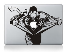 Laptop Sticker Superman Personality Vinyl Decal skin for New Macbook 12