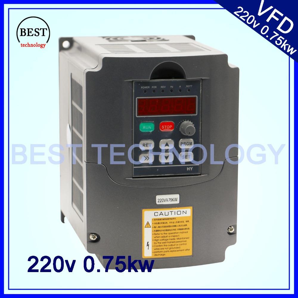 Buy 220v vfd cnc spindle motor for Vfd for 1hp motor