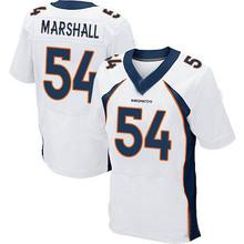 Men's #54 Brandon Marshall Elite White Football Jersey %100 Stitched(China (Mainland))