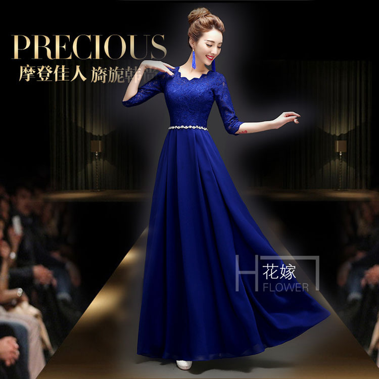 women long dress lace summer chiffon black elegant maxi dresses - ecogree store