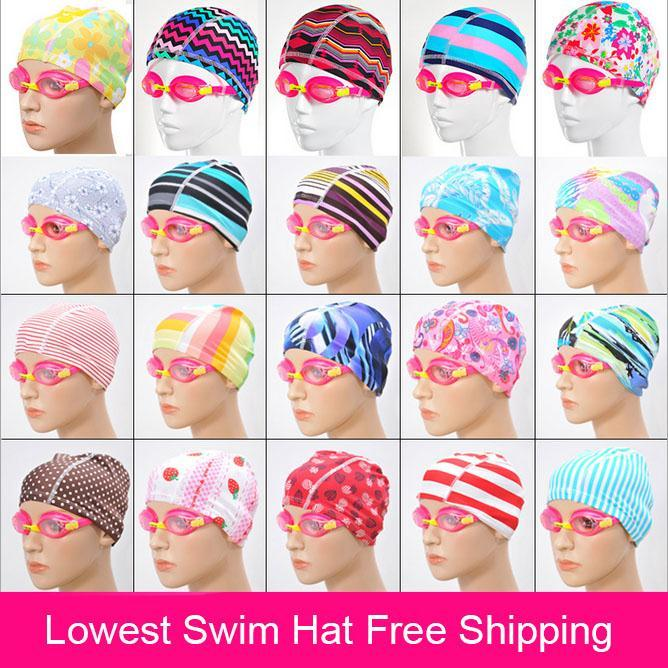 New Protect Ears Sports Pool Swimming Cap For  Women &  Men Adults Good Quality Multicolor Swim Hat Cup sombrero buceo Free Size(China (Mainland))