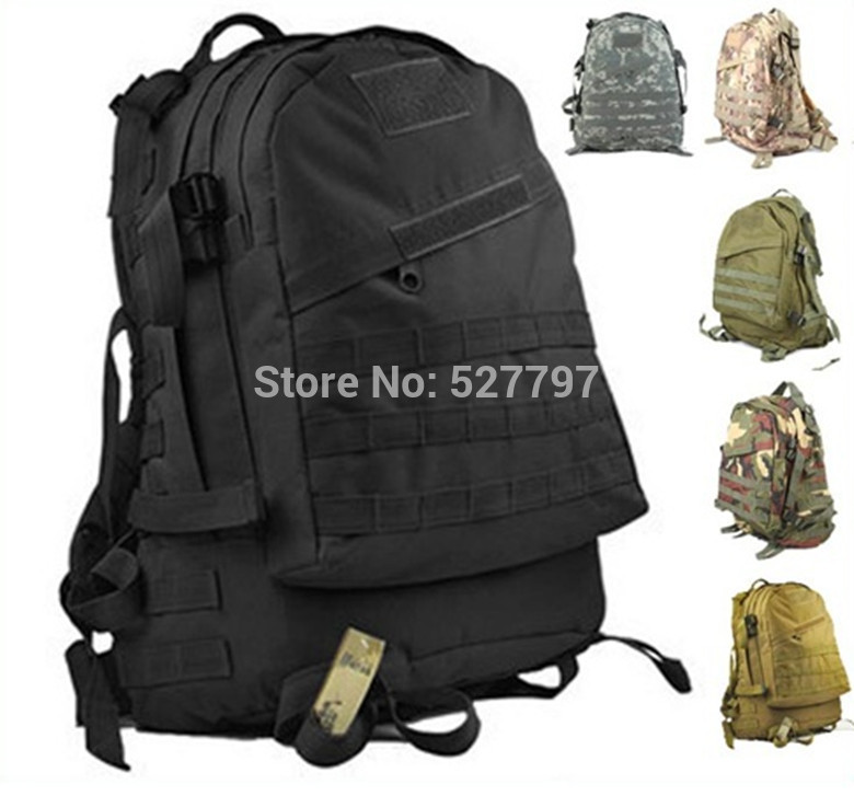 3D Military Combat Backpack Outdoor Sports mountaineering travel Camping Molle bags - Outdoor's Equipment store