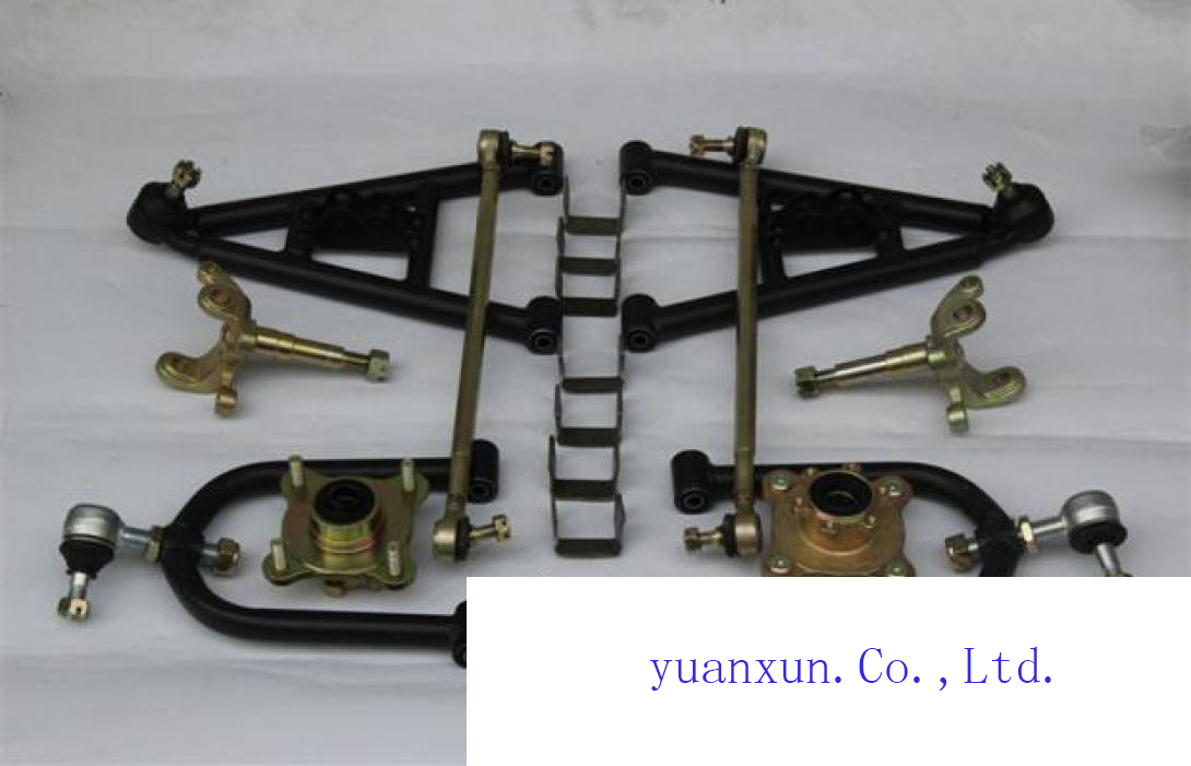 Kart accessories DYI before conversion electric vehicle steering wheel down three ATV suspension rod<br>