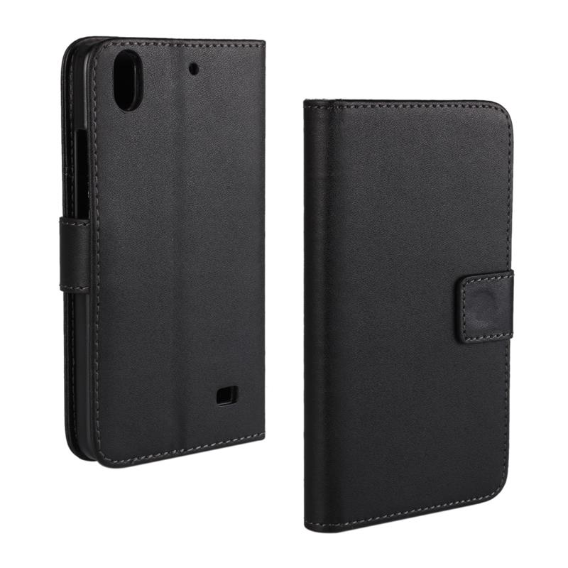 30 pcs/lot Card Slot Flip 100 Grain PU Leather Stand Wallet Case Cover huawei ascend g620s