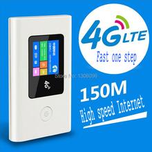 4 G WiFi router 2000 mAh 6 modos portátil móvel TD-LTE FDD-LTE TD DC-HSPA + GPRS construído em cartão SIM slot suporte SD / TF cartão de armazenamento