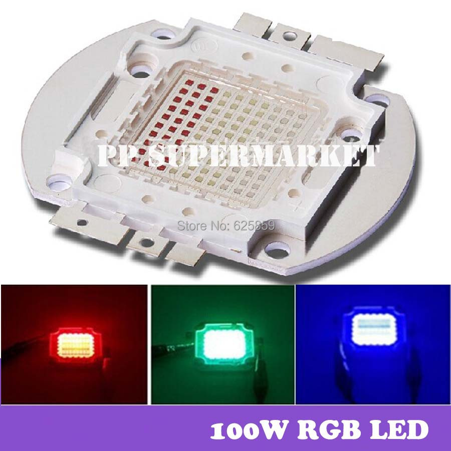 2pcs 100w high power led integrated rgb module led lamp. Black Bedroom Furniture Sets. Home Design Ideas