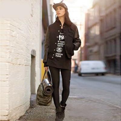 Womens leather varsity jacket – Novelties of modern fashion photo blog