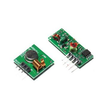 5Lot 433Mhz RF Transmitter With Receiver Kit For Arduino ARM MCU Wireless(China (Mainland))