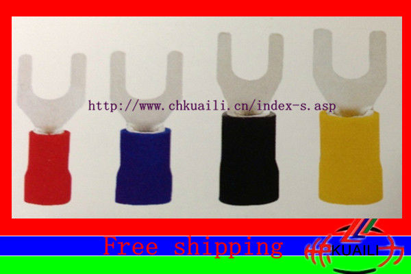1000PCS  Pre-insulated Fork ends TU-JTK SVL 2-6<br><br>Aliexpress