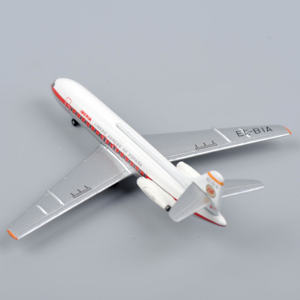Inflight500 Model Airplane 1/500 Scale Alloy Diecast Airplane Model IBERIA SE-210 Caravelle Airplane Collectible Model Toys F(China (Mainland))
