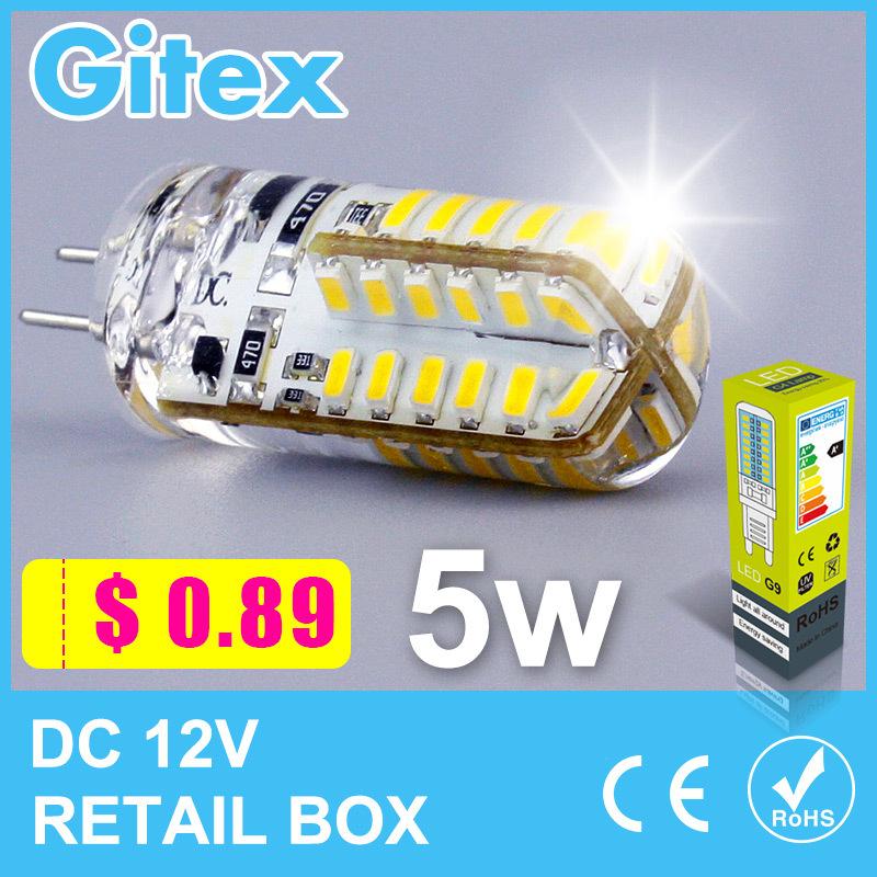 Светодиодная лампа Gitex G4 3014SMD 3W 5W 7w 6W Lampada G4 12v DC G4 12v AC 220V G4 лампочка camelion g4 2 5w 12v g4 4500k 200 lm led2 5 jc sl 845 g4 12302