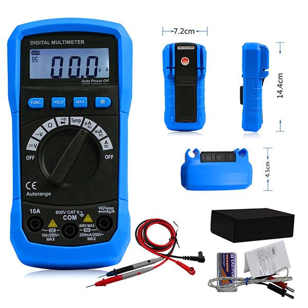 мультиметр DMM температура