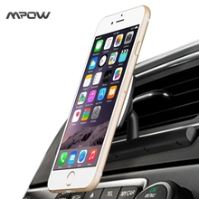 Mpow MCM9B Magnetic CD Slot Car Mount Holder 360 Degree Swivel Universal Black Cradle-less Car Phone Holder for iPhone Android(China (Mainland))