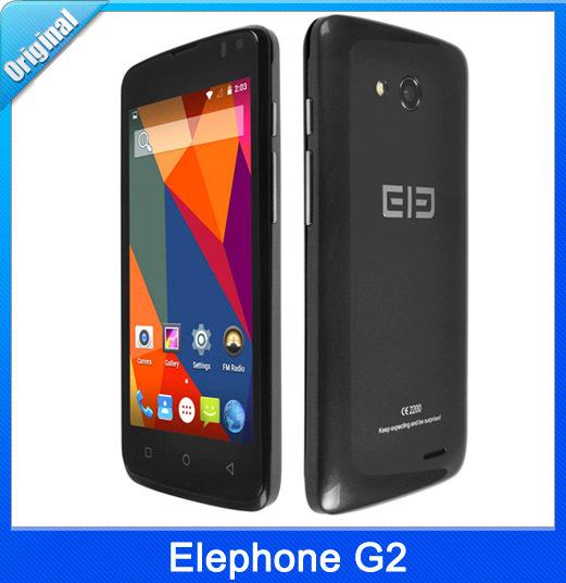 Original Elephone G2 4.5 ''4G Android 5.0 Smart Phone MTK6732M Quad Core 1.3GHz RAM 1GB ROM 8GB FDD-LTE & WCDMA GSM Dual SIM
