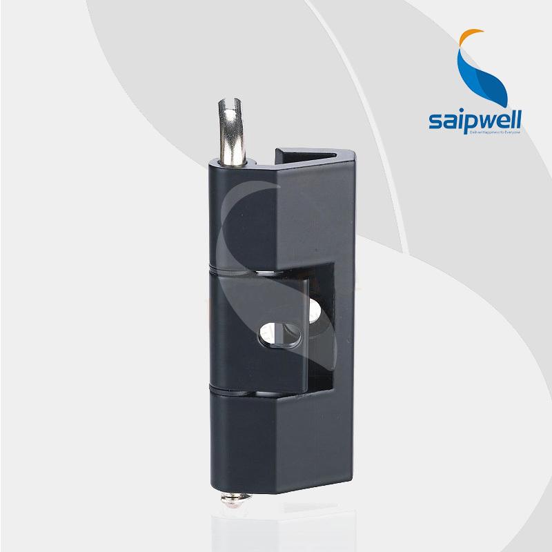 SP210 Matt Black Zinc Alloy Small Hinge for Box /180 Rotation Tensile Strength Industrial Cabient Hinge (5pcs/lot)(China (Mainland))